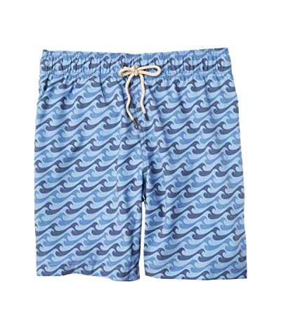 Faherty Beacon Trunks (Azure Endless Peaks) Men