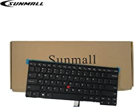 SUNMALL Keyboard Replacement with Frame for Lenovo ThinkPad T431 T431S E431 T440 T440P T440S E440 L440 T450 T450S T460 T460P L450 T440E Series Laptop US Black Layout(6 Months Warranty) …