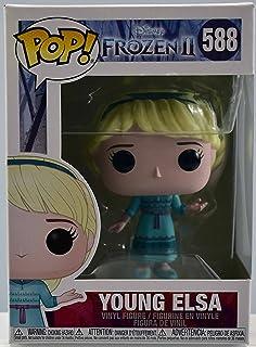 Funko Pop! Disney: Frozen 2 – Juego de 2 Young Elsa + Young Anna