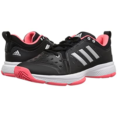 adidas Barricade Classic Bounce (Black/Matte Silver/Flash Red) Men