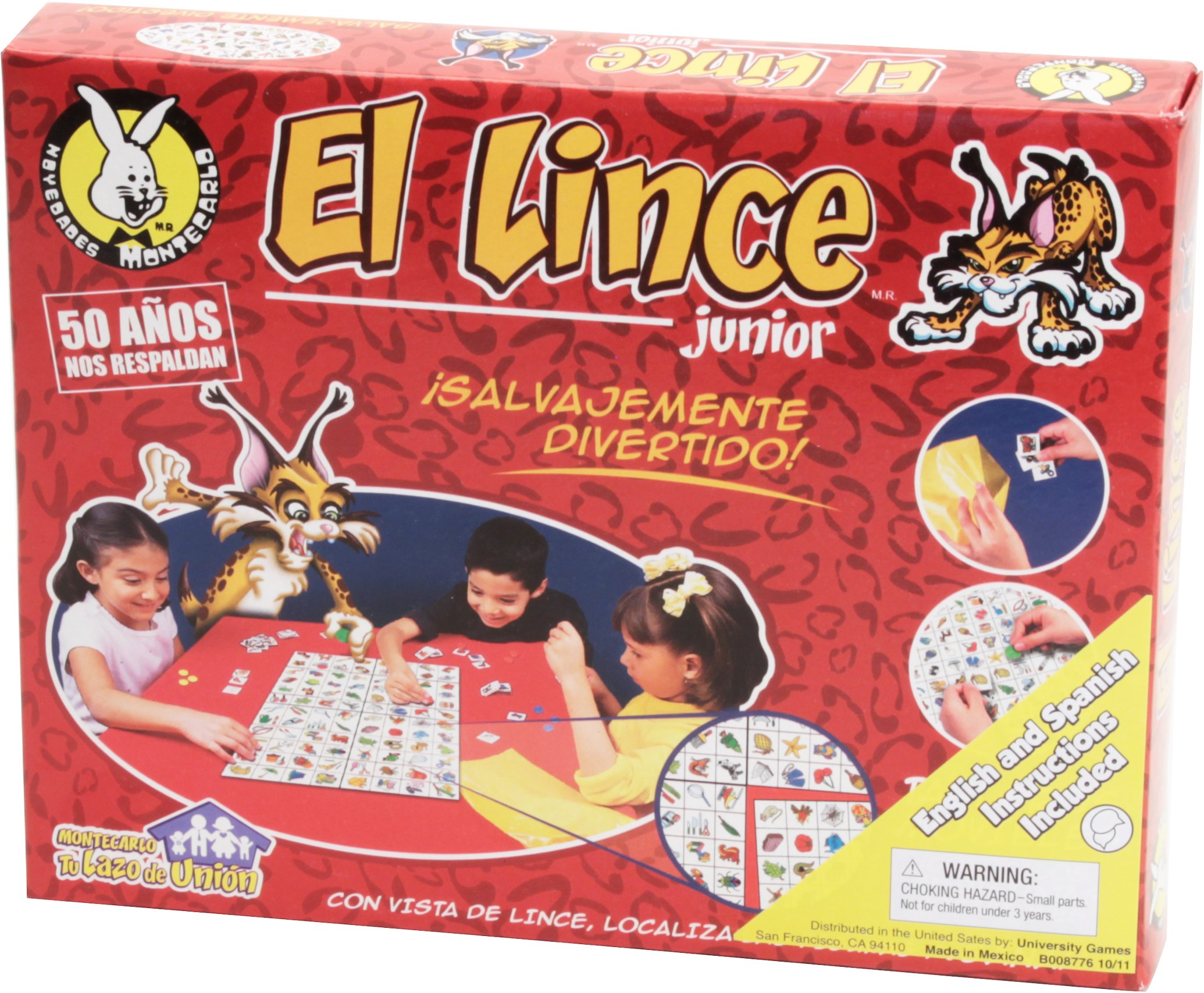 El Lince Jr. Game: Amazon.es: Juguetes y juegos