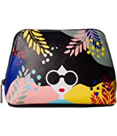 Alice + Olivia - Nikki Printed Cosmetic Case