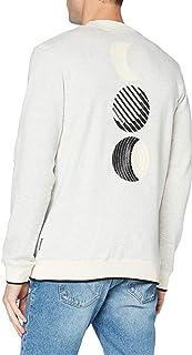 Scotch & Soda Men's Sweatshirt Mit Gobelin-Artwork