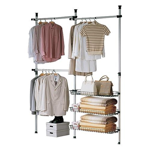 open storage wardrobe. Black Bedroom Furniture Sets. Home Design Ideas