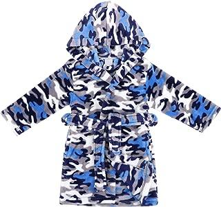 Boys Girls' Plush Soft Fleece Printed Hooded Beach Cover up Pool wrap