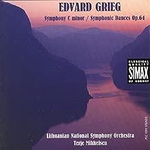 Edvard Grieg: Symphony C Minor / Symphony Dances Op. 64