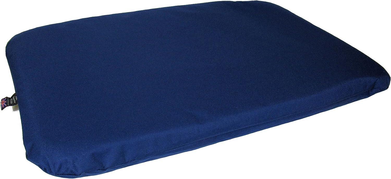 P & L Superior Pet Beds Heavy Duty Waterproof Pet Duvets, Large, 127 x 82 x 11 cm, bluee