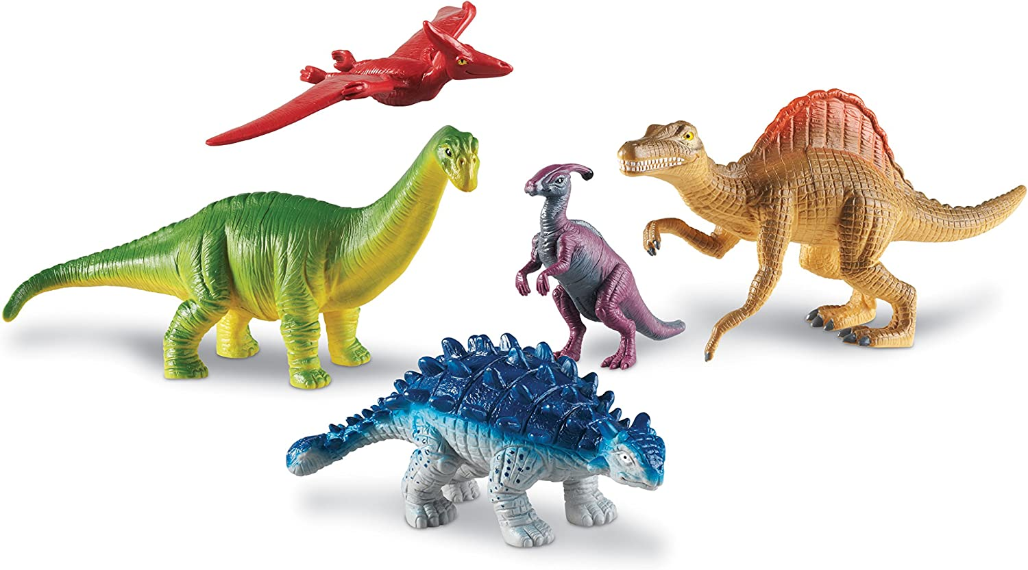 Learning Resources Jumbo Dinosaurs Expanded Safety and trust Set S I Apatosaurus Manufacturer regenerated product