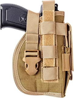 kimitosfull Molle Belt Holster for 1911 45 92 96 Glock Outdoor Tactical Equipment for MOLE System Hidden Tactical Holster