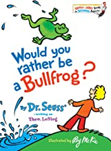 Would RATHER BE A bullfrog ؟ (بر ّ اق & بدايات كتب (R))
