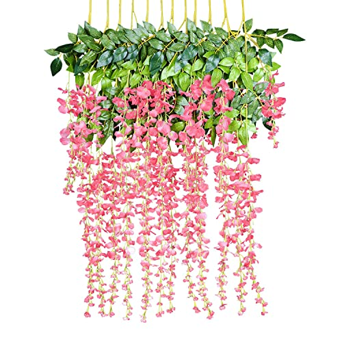 Artificial Floral Wall Hanging Amazon Com