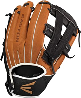 EASTON SCOUT FLEX YOUTH Baseball Glove Series | 2020 | Ultra Soft Hog Hide Leather | Super Soft Palm Lining For Comfort + Enhances Grip | Flex Notch System Creates Easier Pocket Closure