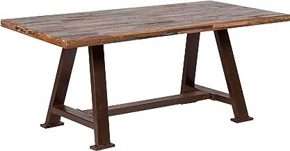 reclaimed wood dining table brooklyn