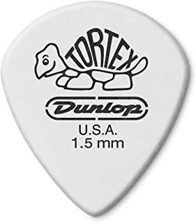 Jim Dunlop 478P.73 Tortex® White Jazz III 12 Pack 1.50mm 1.5   White