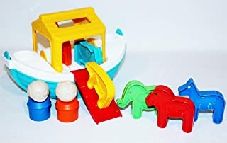 Tupperware Noah's Ark TupperToy Children's Boat and Animals Kids Play Set