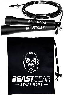 comprar comparacion Cuerda para saltar de alta velocidad de Beast Gear. Comba de CrossFit, Boxeo, MMA. Longitud Ajustable y Rodamientos Ligero...