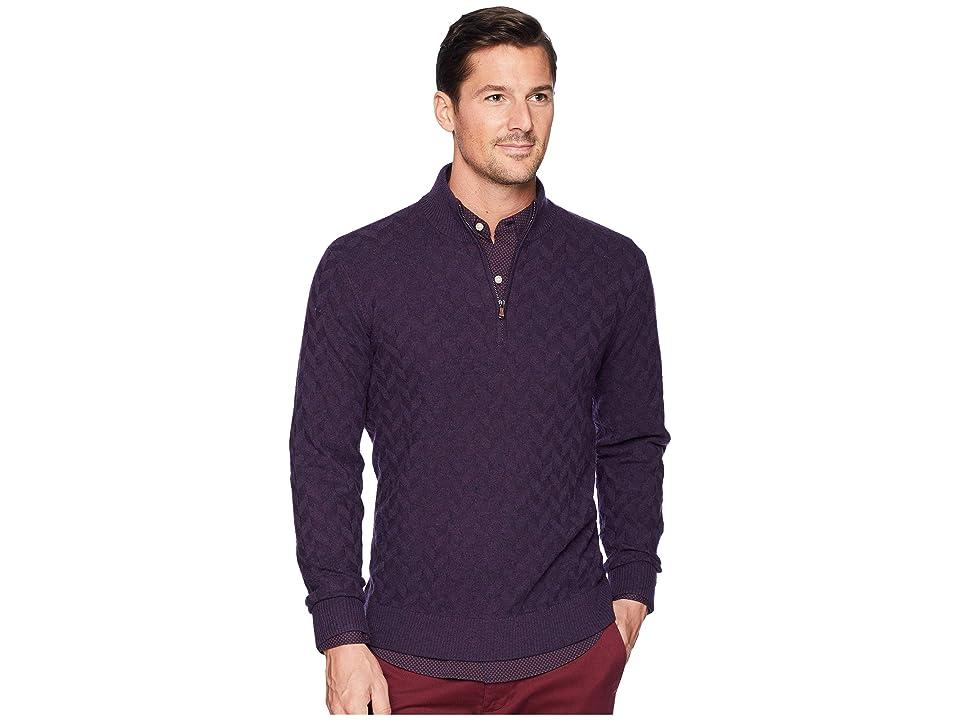 Robert Graham Rowley Sweater (Blackberry) Men