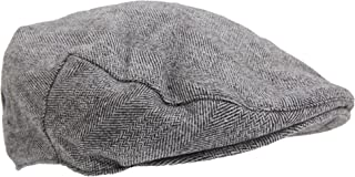 Mens Traditional Lined Flat Cap