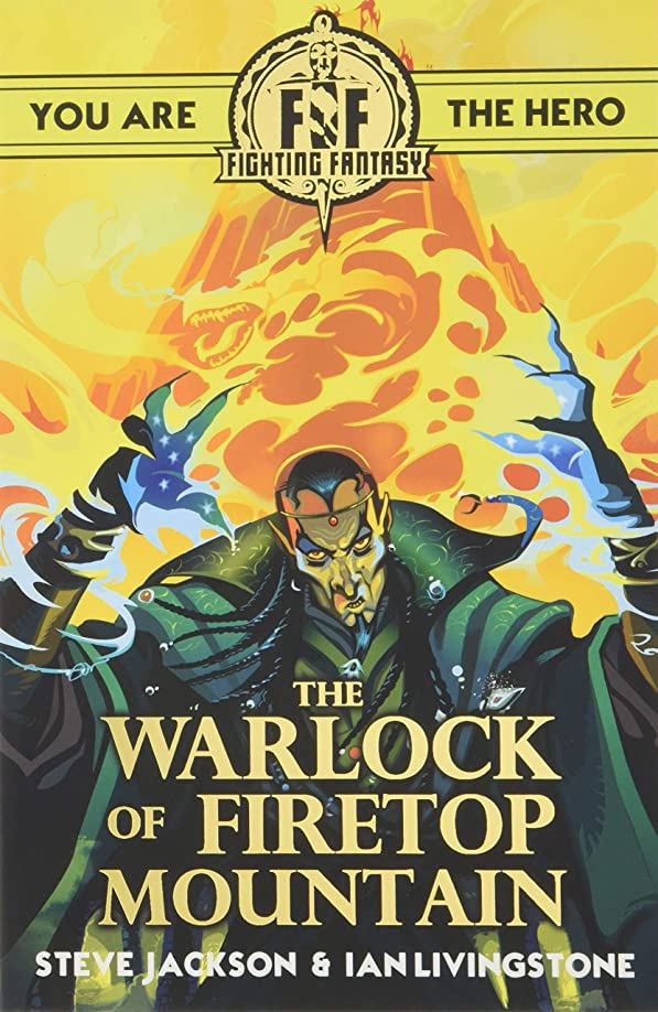 体細胞領事館バットFighting Fantasy:The Warlock of Firetop Mountain