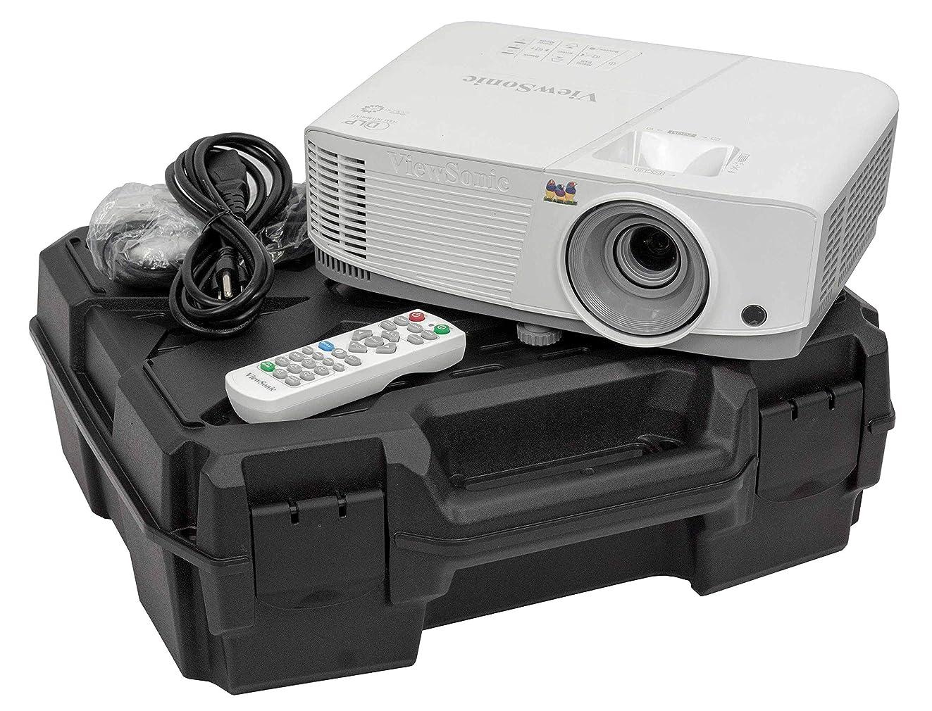 Case Club Projector Case Compatible with Epson VS250, VS350, VS355 Projectors Plus Cords and Remote