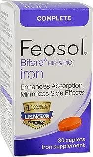 Feosol Complete with Bifera Iron Caplets 30ct