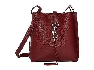 Rebecca Minkoff Megan Shoulder Bag (Pinot Noir) Shoulder Handbags