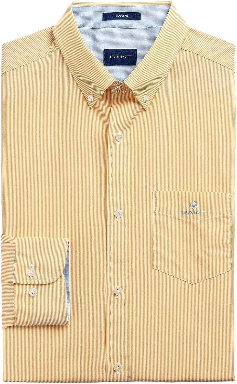 GANT Mens Fine Stripes Broadcloth Shirt Regular Fit