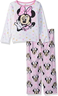Disney Girls Minnie Mouse 2-Piece Pajama Set