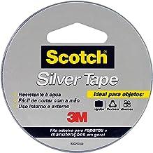 Fita 3M Scotch Silver Tape - 45 mm x 5 m