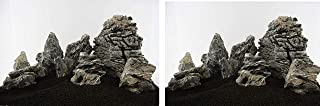 Lifegard Aquatics 25G-Smoky Smoky Mountain Stone 25G Rock Kit,Brown