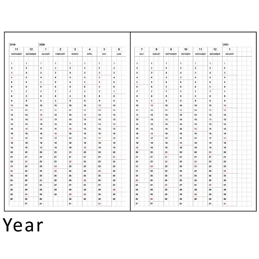 差別化する加速する混合ラ?アプス 手帳 リフィル 2020年 B6 ウィークリー AG-2700 (2019年 11月始まり)