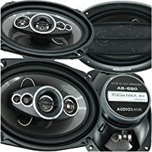 "$64 » Sponsored Ad - 4X Audiobank AB-690 6""x9"" 5-Way Car Audio Stereo Coaxial Speakers 1400 Watts Peak Power Handling All Speake..."