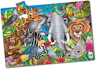 Animals of the World Jumbo Floor Puzzle