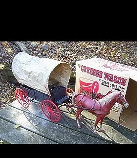 Johnny West Marx Wagon horse harnesd