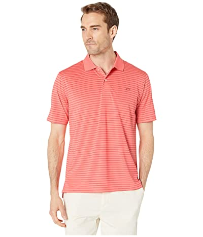 Southern Tide Summertide Performance Polo (Sunset Coral) Men