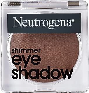 Neutrogena Shimmer Eye Shadow With Antioxidant Vitamin E, Easy-to-apply Eye Makeup With A Shimmery Finish, Burnt Sienna, 1.0 Oz