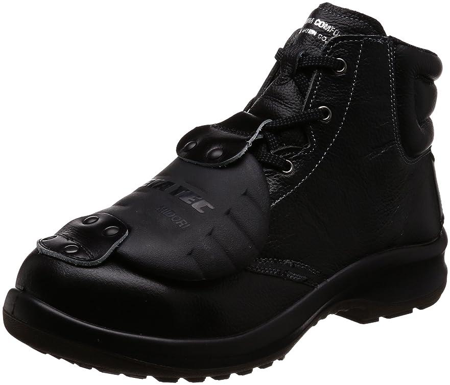 マルコポーロ原点幼児安全靴 JIS規格 甲プロテクタ付き 中編上靴 プレミアムコンフォート PRM220 甲プロ MII メンズ