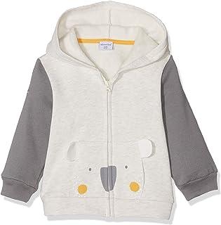 Tianhaik davanti neonato unisex cappotto invernale dai piedi pagliaccetto scatta calda tuta felpa con cappuccio carino orso snowsuit