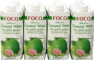 Best foco coconut water ingredients Reviews