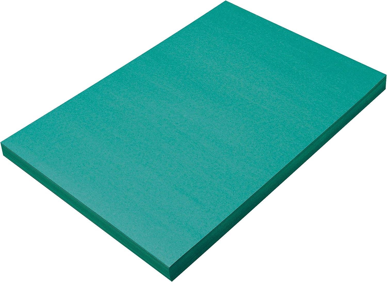 SunWorks Construction Paper Turquoise 12