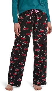 Printed Knit Long Pajama Sleep Pant Plus Women's