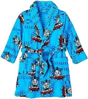 Thomas All Aboard Toddler Boys Bathrobe Robe Pajamas (3t)