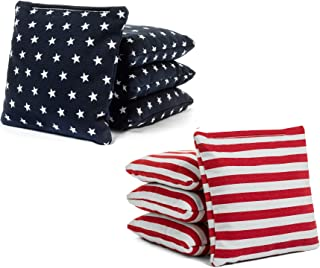 Tailgating Pros Cornhole Bags - 8 Regulation Size Corn Hole Bags - 25+ Colors Available