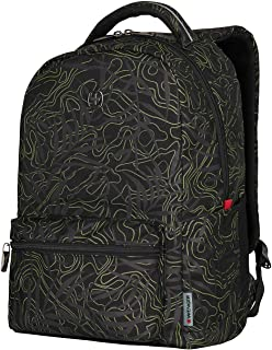 "Wenger 16"" Laptop Backpack with Tablet Pocket, Black Fern 606466"