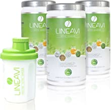 LINEAVI Active Slimming protein meal replacement shakes for weight loss control mix of soy pea rice and whey proteins lactose free and gluten free made in Germany 3x500g shaker Estimated Price : £ 37,99