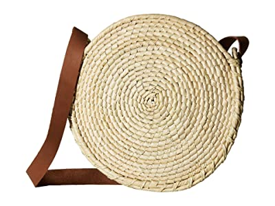 San Diego Hat Company BSB1762 Round Crossbody (Natural) Handbags