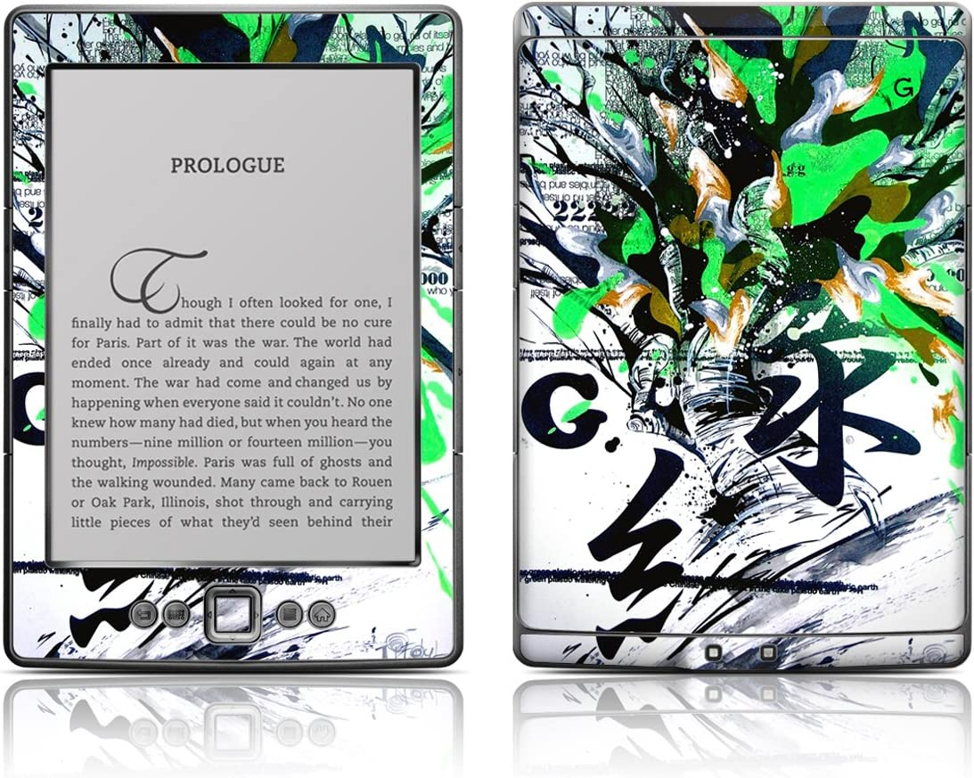 Quality inspection depot Decalgirl Kindle Skin Green 1 -