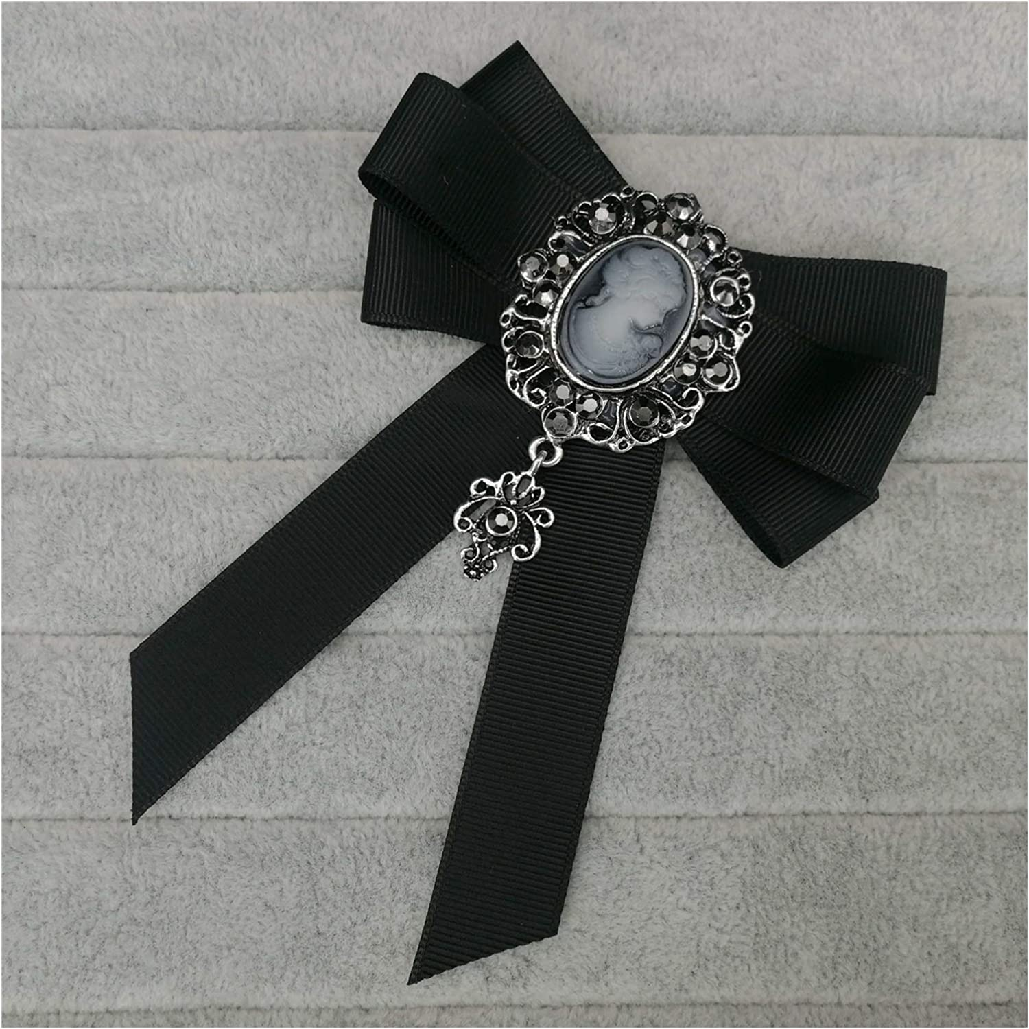JSJJAED Brooch Fashion Fabric Band Bowknot Limited time Ranking TOP13 sale for Women Vi Brooches