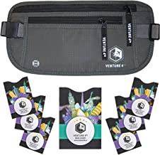 VENTURE 4TH RFID Money Belt for Travel: The Trusted Hidden Waist Stash for Men and Women