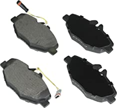 Bosch BE987H Blue Disc Brake Pad Set with Hardware for Select Mercedes-Benz E320 and E350 Sedans - FRONT